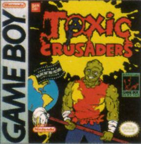 Toxic Crusaders per Game Boy