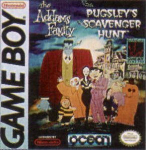 The Addams Family - Pugsley's Scavenger Hunt per Game Boy