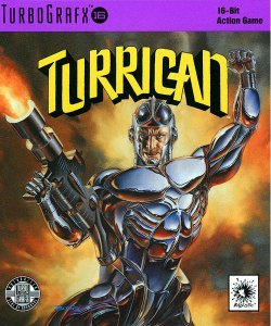 Turrican per PC Engine