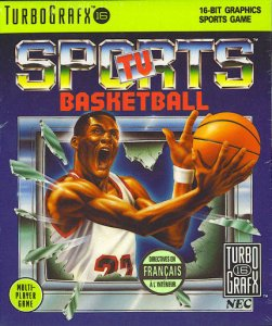 TV Sports Basketball per PC Engine