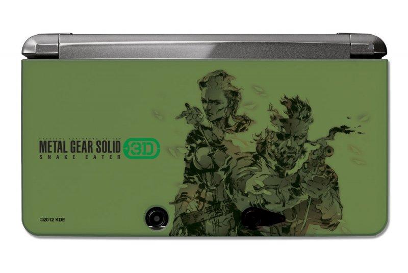 Un Nintendo 3DS griffato Metal Gear Solid per l'uscita di Snake Eater 3D