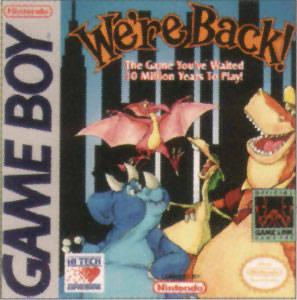We're Back!: A Dinosaur Story per Game Boy