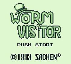 Worm Visitor per Game Boy
