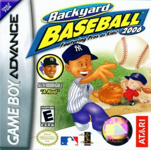 Backyard Baseball 2006 per Game Boy Advance