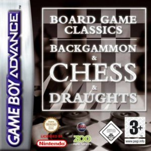 Board Game Classics (Chess / Draughts / Backgammon) per Game Boy Advance