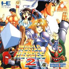 World Heroes 2 per PC Engine