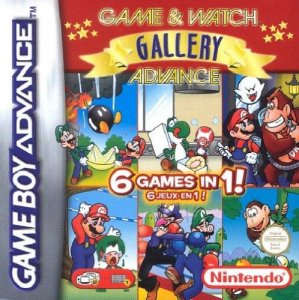 Game & Watch Gallery Advance per Game Boy Advance