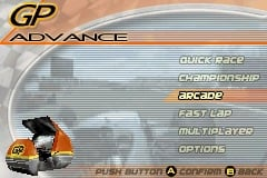 GP Advance per Game Boy Advance