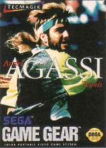 Andre Agassi Tennis per Sega Game Gear