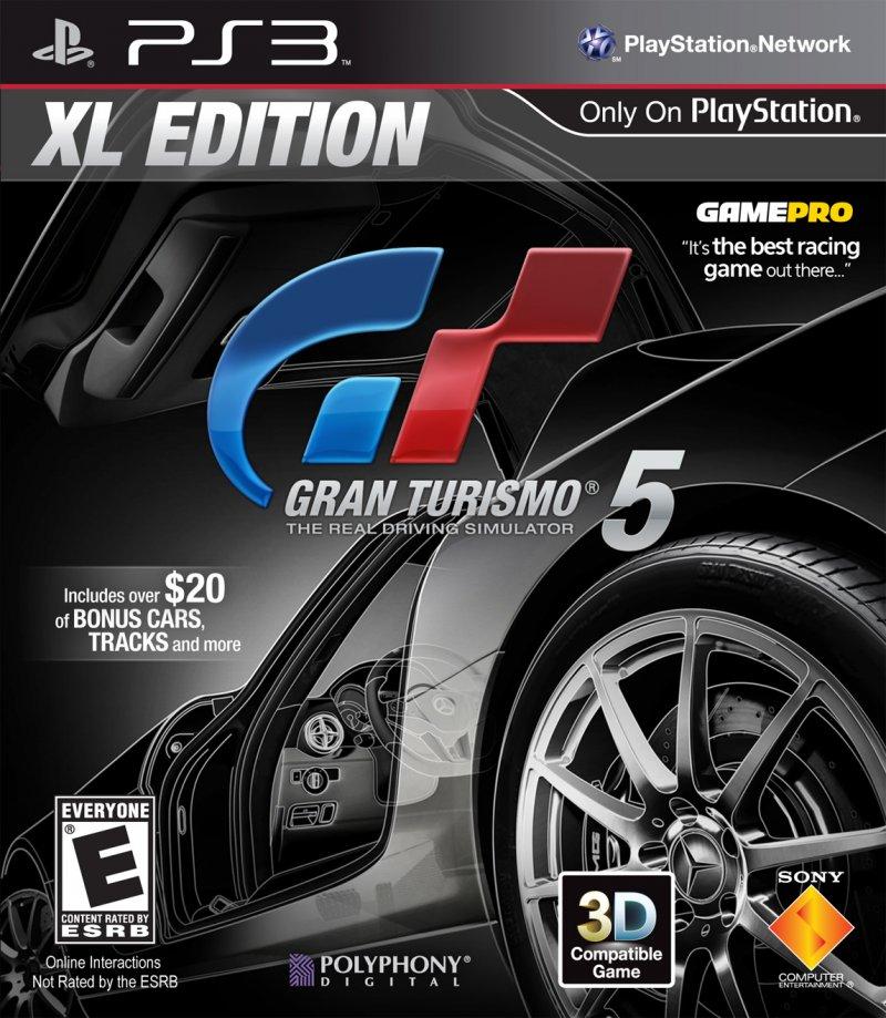 Gran Turismo 5 XL Edition è ufficiale