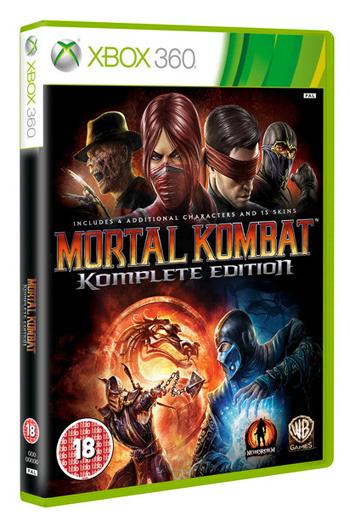 Mortal Kombat Komplete Edition confermato per marzo