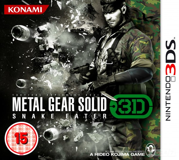 Metal Gear Solid: Snake Eater 3D - Data ufficiale e copertina