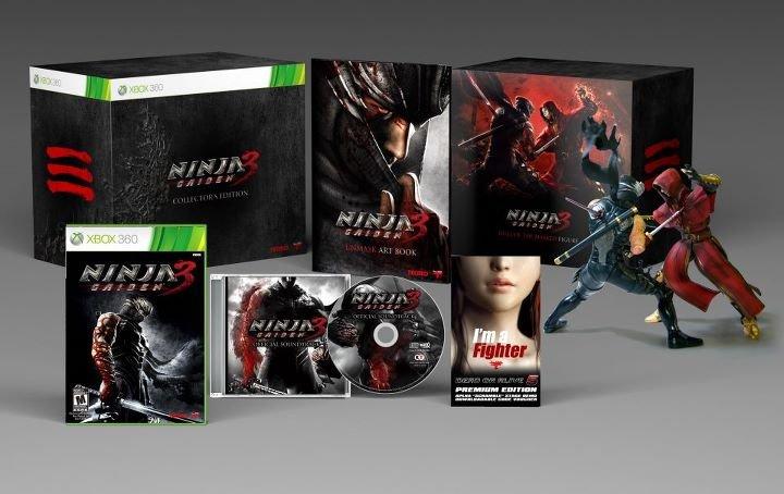 Ninja Gaiden 3 - Svelata la Collector Edition