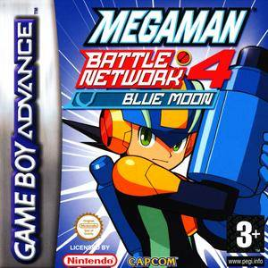 Mega Man Battle Network 4 Blue Moon per Game Boy Advance