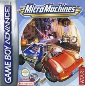 MicroMachines per Game Boy Advance