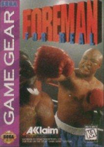 Foreman For Real per Sega Game Gear