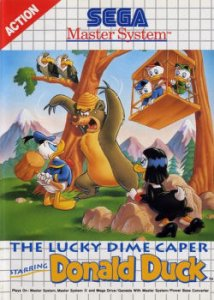 The Lucky Dime Caper Starring Donald Duck per Sega Master System
