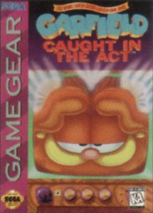 Garfield: Caught in the Act per Sega Game Gear