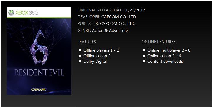 Resident Evil 6 - Multiplayer cooperativo per 6 giocatori?
