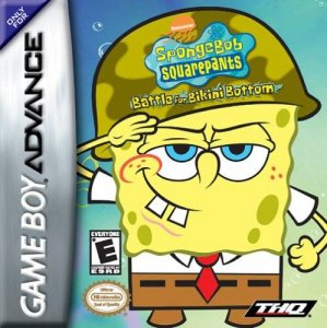 Sponge Bob: Squarepante Battle per Game Boy Advance