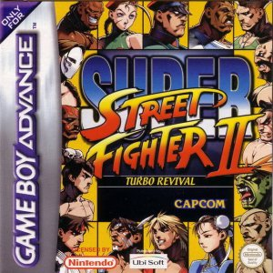 Super Street Fighter II Turbo Revival per Game Boy Advance
