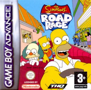 The Simpsons Road Rage per Game Boy Advance