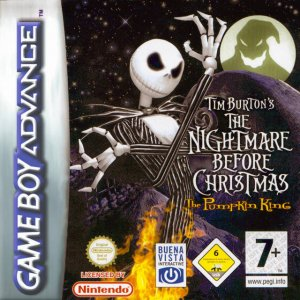 Tim Burton's The Nightmare Before Christmas: The Pumpkin King per Game Boy Advance