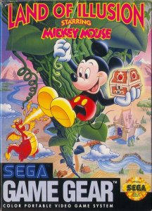 Land of Illusion starring Mickey Mouse per Sega Game Gear