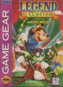 Legend of Illusion starring Mickey Mouse per Sega Game Gear