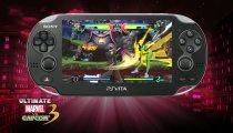 Ultimate Marvel vs Capcom 3 - Un filmato di gameplay della versione PSVita