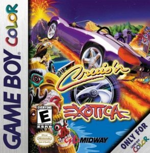 Cruis'n Exotica per Game Boy Color