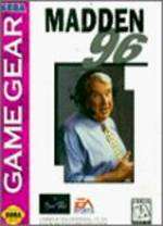 Madden NFL 96 per Sega Game Gear