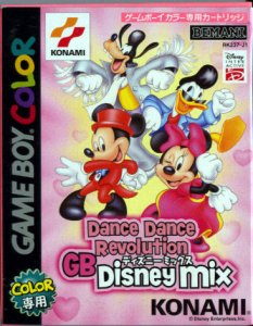 Dance Dance Revolution GB Disney Mix per Game Boy Color