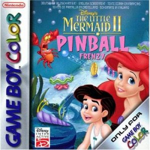 Disney's The Little Mermaid II Pinball Frenzy per Game Boy Color