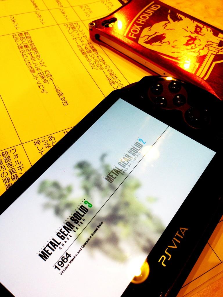 Kojima mostra un'altra immagine di Metal Gear Solid HD Collection su Vita