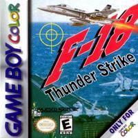 F-18 Thunder Strike per Game Boy Color