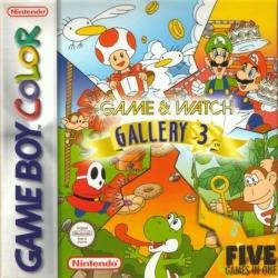 Game and Watch Gallery 3 per Game Boy Color