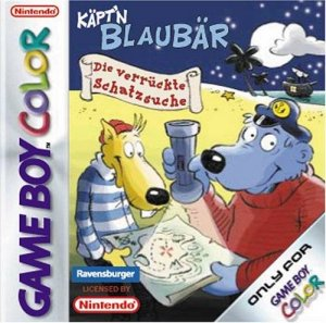 Kaept'n Blaubaer: Die verrueckte Schatzsuche per Game Boy Color