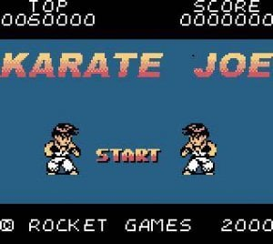 Karate Joe per Game Boy Color