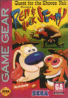 Quest for the Shaven Yak starring Ren & Stimpy per Sega Game Gear