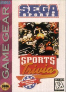 Sports Trivia: Championship Edition per Sega Game Gear