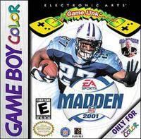 Madden NFL 2001 per Game Boy Color