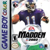 Madden NFL 2002 per Game Boy Color
