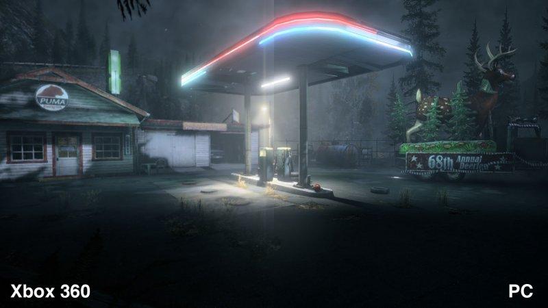 Alan Wake su PC, alcune immagini comparative
