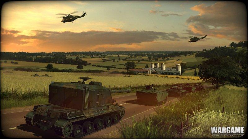 Un update per Wargame: European Escalation