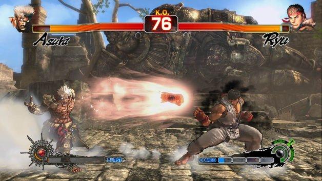 Ryu compare come ospite speciale in Asura's Wrath