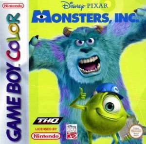 Monsters & Co. per Game Boy Color