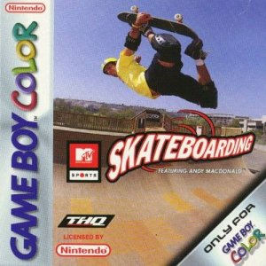 MTV Sports: Skateboarding featuring Andy Macdonald per Game Boy Color