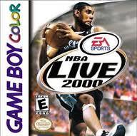 NBA Live 2000 per Game Boy Color