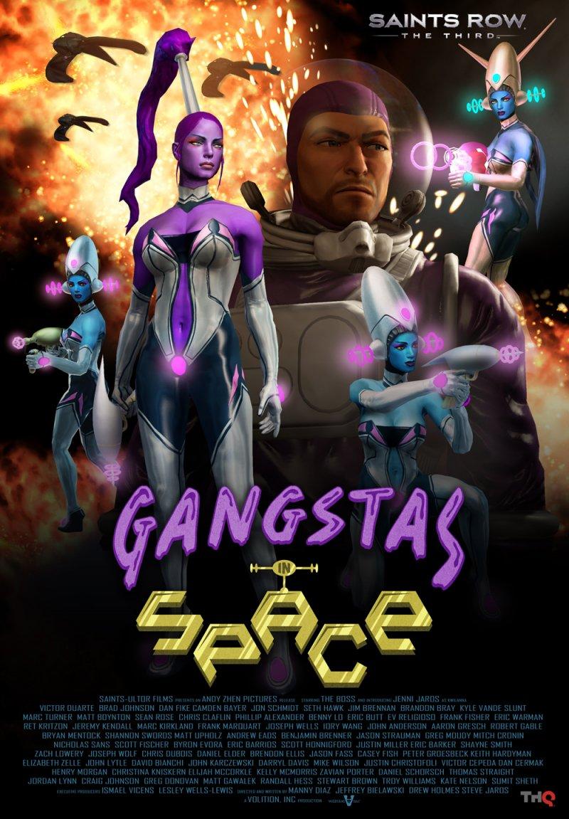 Saints Row: The Third - Gangstas in Space esce la settimana prossima